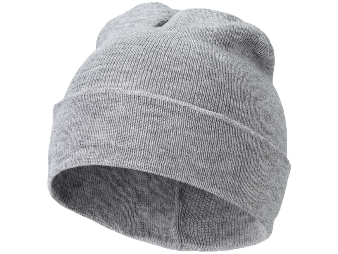 Irwin Mütze, grau meliert bedrucken, Art.-Nr. 11104301