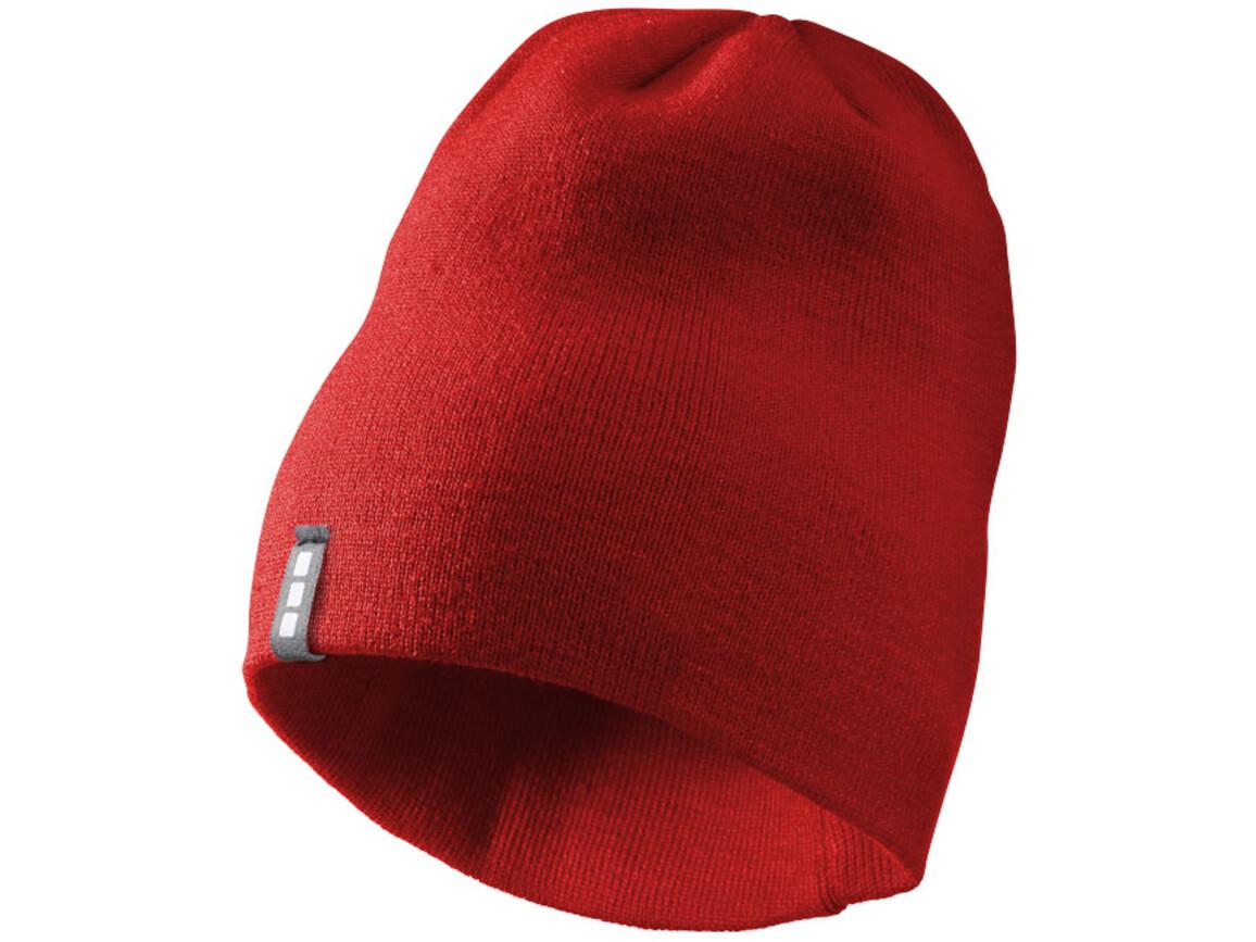 Level Mütze, rot bedrucken, Art.-Nr. 11105303
