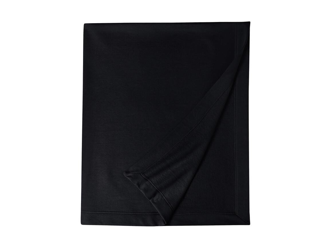 Gildan Gildan DryBlend® Fleece Stadium Blanket, Black, One Size bedrucken, Art.-Nr. 001091010