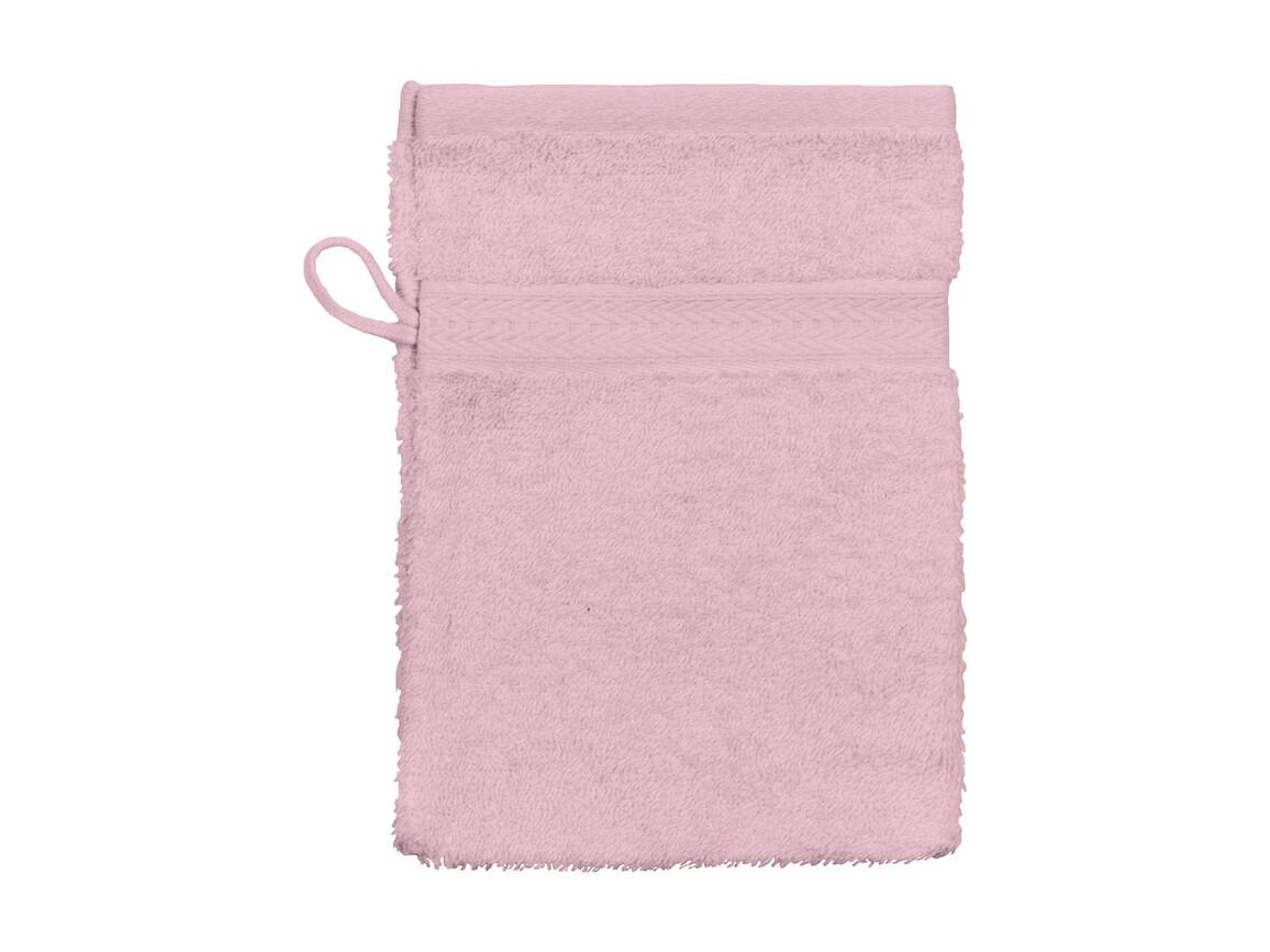Jassz Towels Rhine Wash Glove 16x22 cm, Pink, One Size bedrucken, Art.-Nr. 002644190
