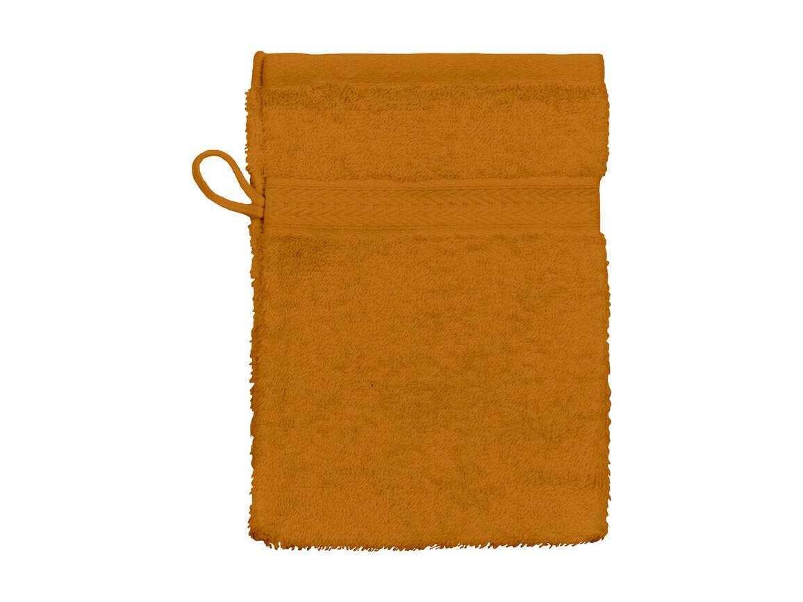 Jassz Towels Rhine Wash Glove 16x22 cm, Terra, One Size bedrucken, Art.-Nr. 002644360