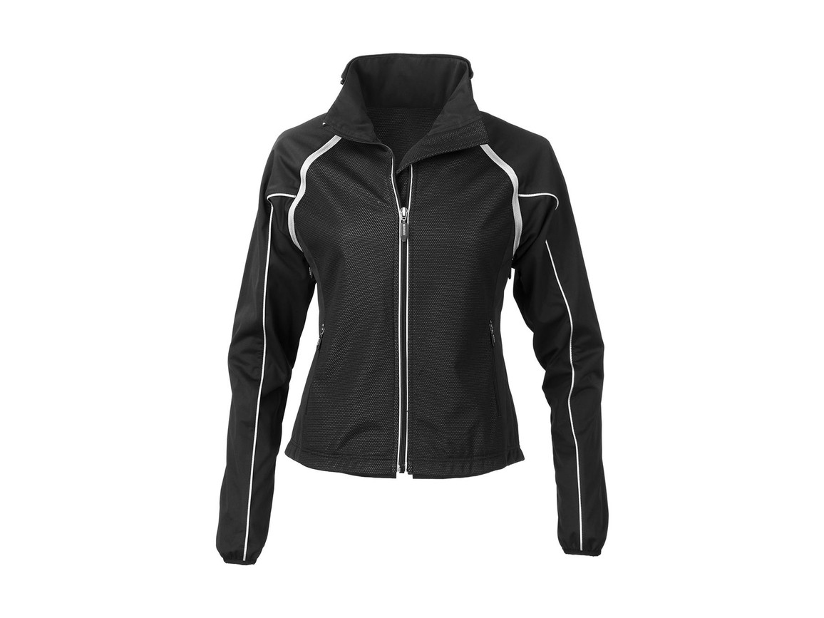 Result Women`s Race System Jacket, Black, S bedrucken, Art.-Nr. 009331013