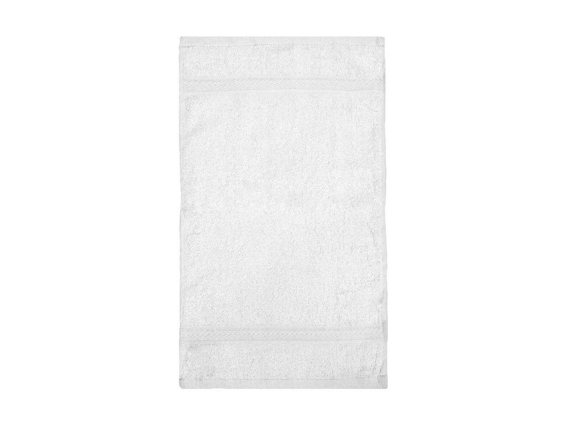 Jassz Towels Rhine Guest Towel 30x50 cm, White, One Size bedrucken, Art.-Nr. 009640000