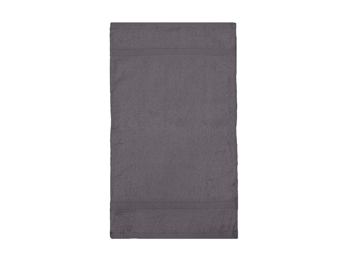 Jassz Towels Rhine Guest Towel 30x50 cm, Grey, One Size bedrucken, Art.-Nr. 009641210