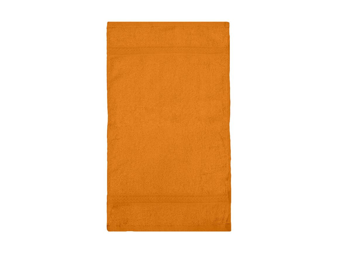 Jassz Towels Rhine Guest Towel 30x50 cm, Bright Orange, One Size bedrucken, Art.-Nr. 009644130