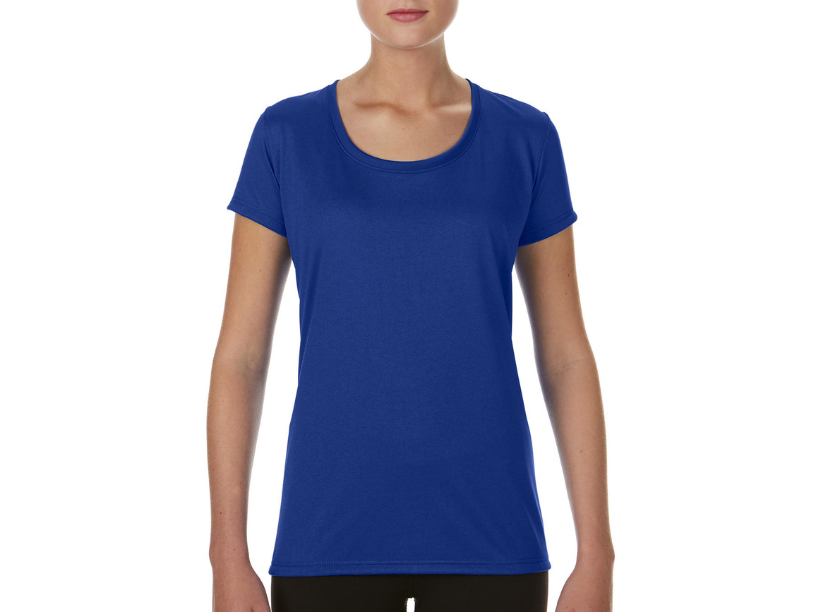 Gildan Performance Ladies` Core T-Shirt, Sport Royal, S bedrucken, Art.-Nr. 010093023