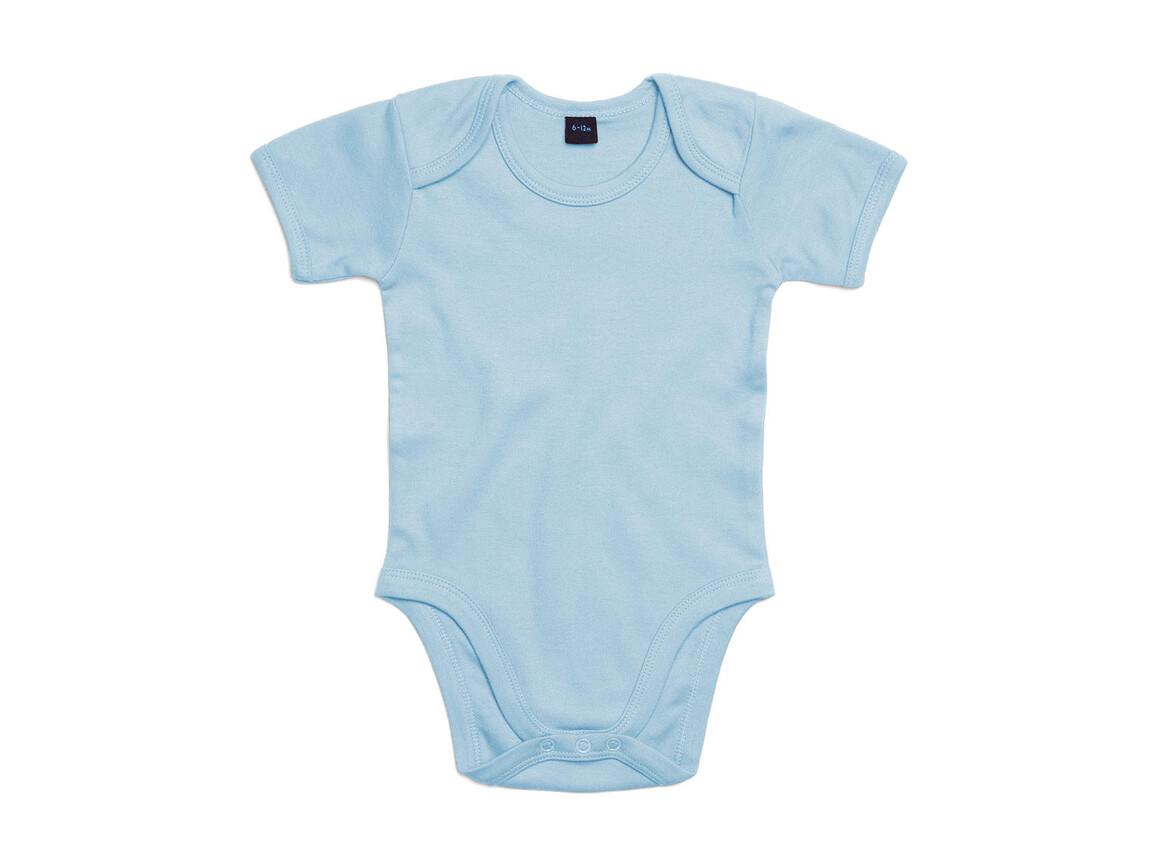 BabyBugz Baby Bodysuit, Dusty Blue, 3-6 bedrucken, Art.-Nr. 010473112