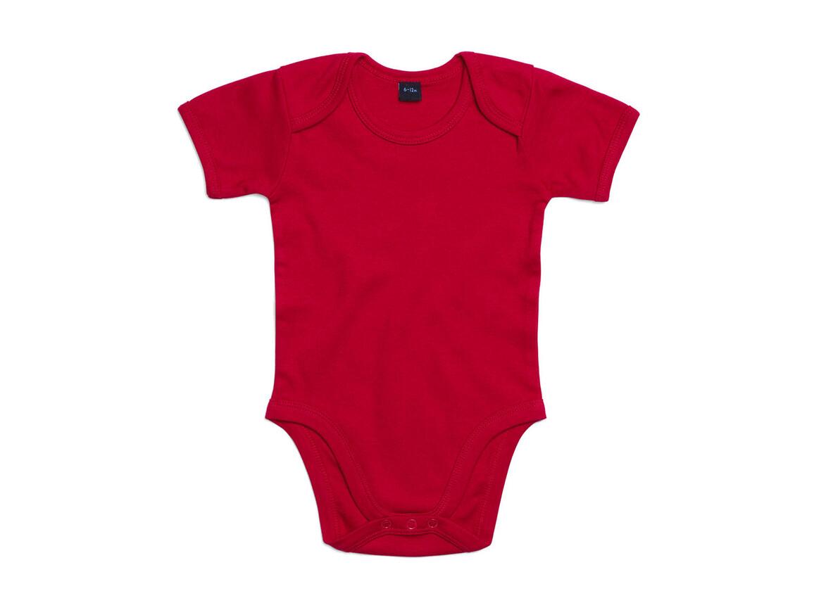 BabyBugz Baby Bodysuit, Red, 12-18 bedrucken, Art.-Nr. 010474004
