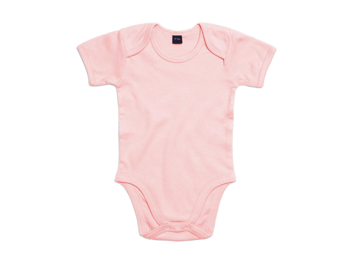 BabyBugz Baby Bodysuit, Powder Pink, 6-12 bedrucken, Art.-Nr. 010474173