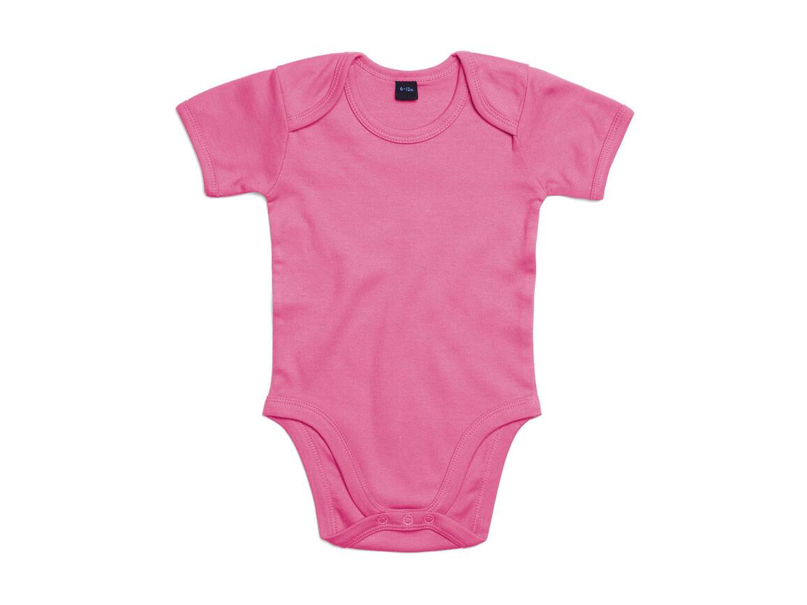 BabyBugz Baby Bodysuit, Bubble Gum Pink, 3-6 bedrucken, Art.-Nr. 010474222