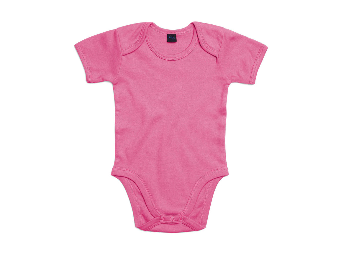 BabyBugz Baby Bodysuit, Bubble Gum Pink, 6-12 bedrucken, Art.-Nr. 010474223