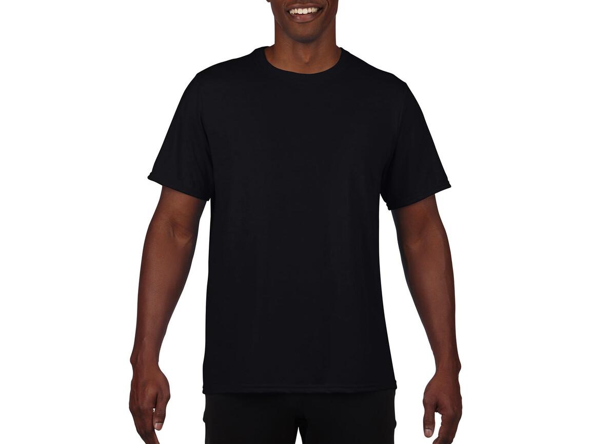 Gildan Performance Adult Core T-Shirt, Black, L bedrucken, Art.-Nr. 011091015