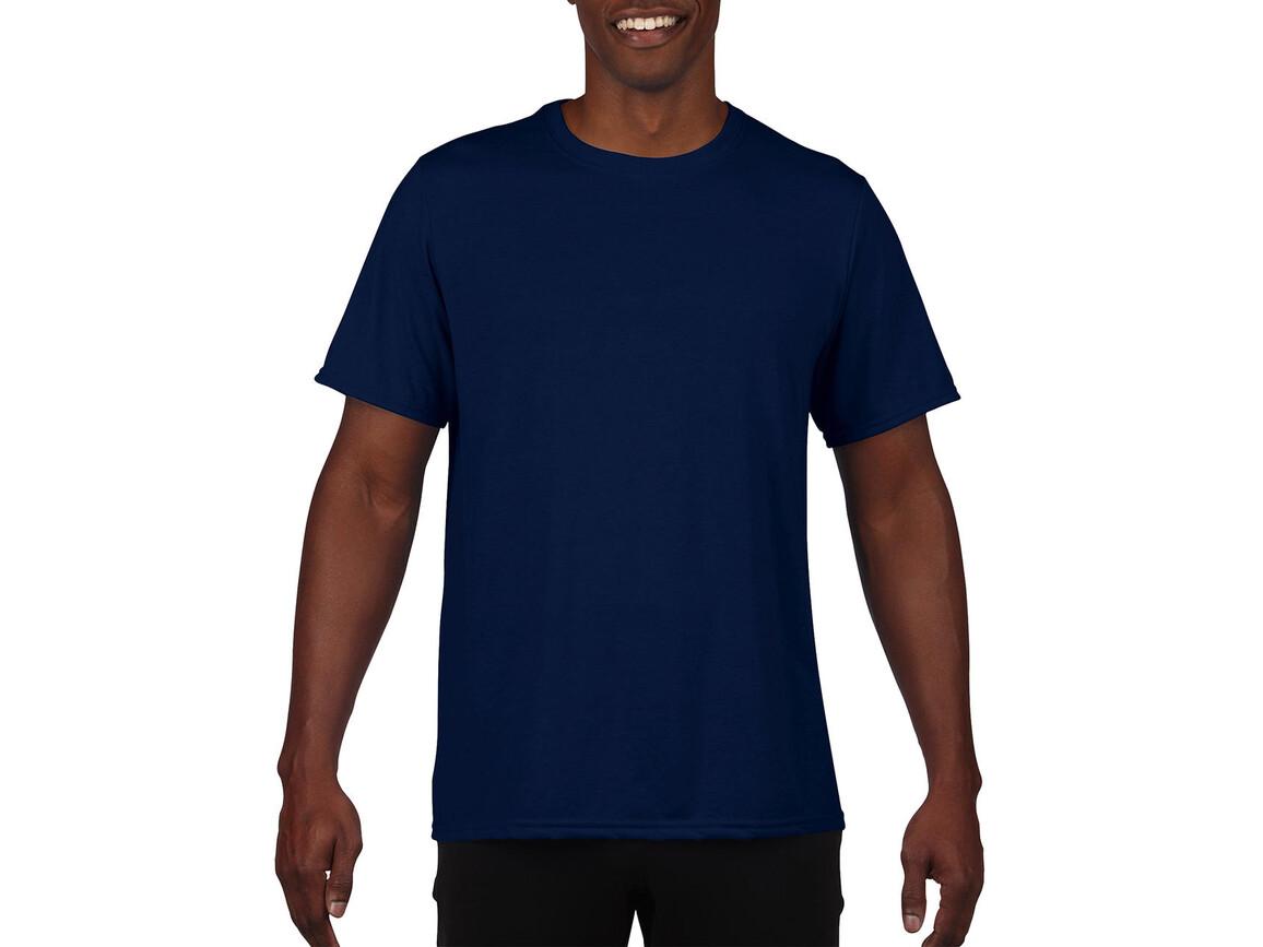 Gildan Performance Adult Core T-Shirt, Sport Dark Navy, M bedrucken, Art.-Nr. 011092034
