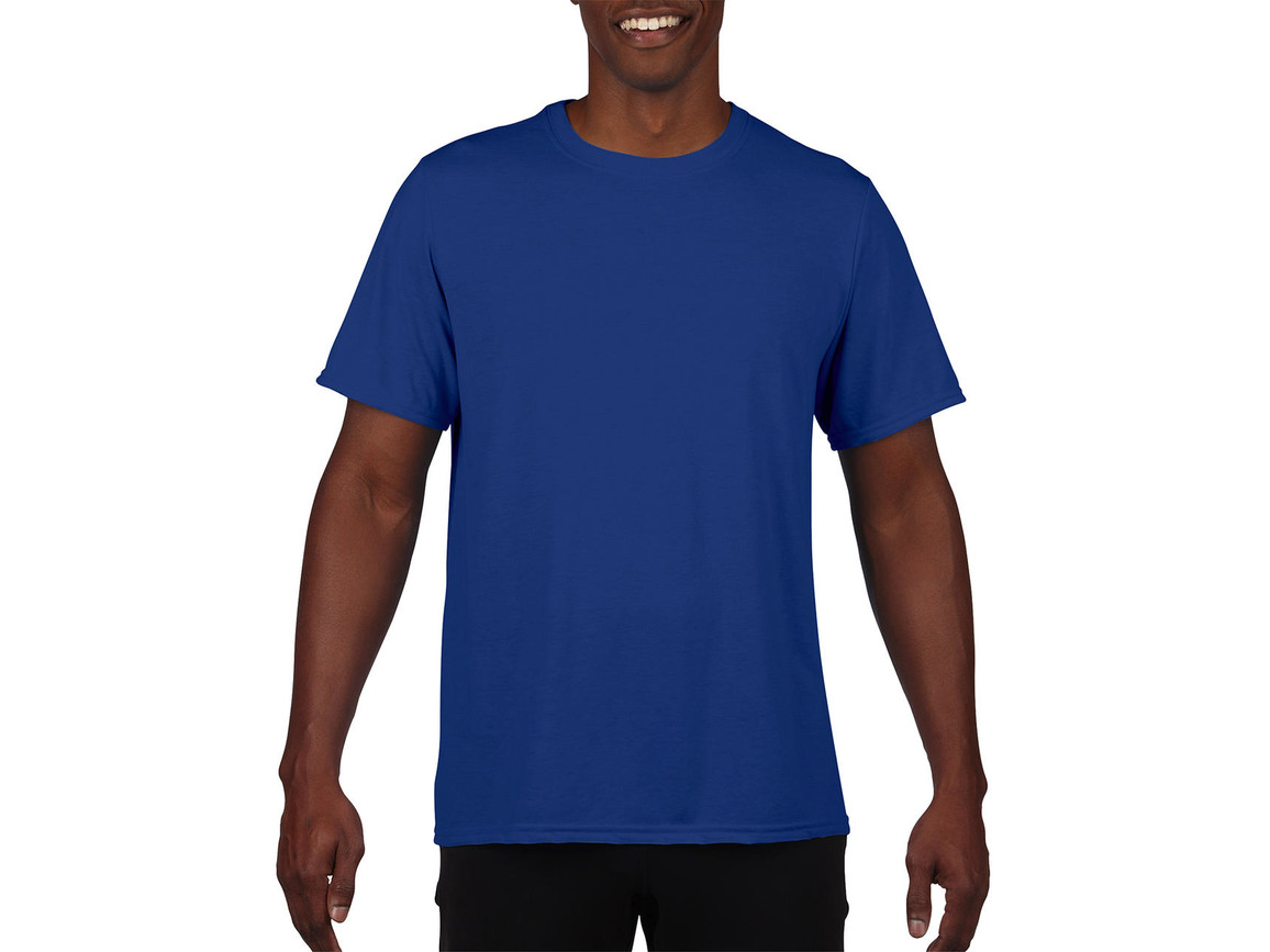 Gildan Performance Adult Core T-Shirt, Sport Royal, 2XL bedrucken, Art.-Nr. 011093027