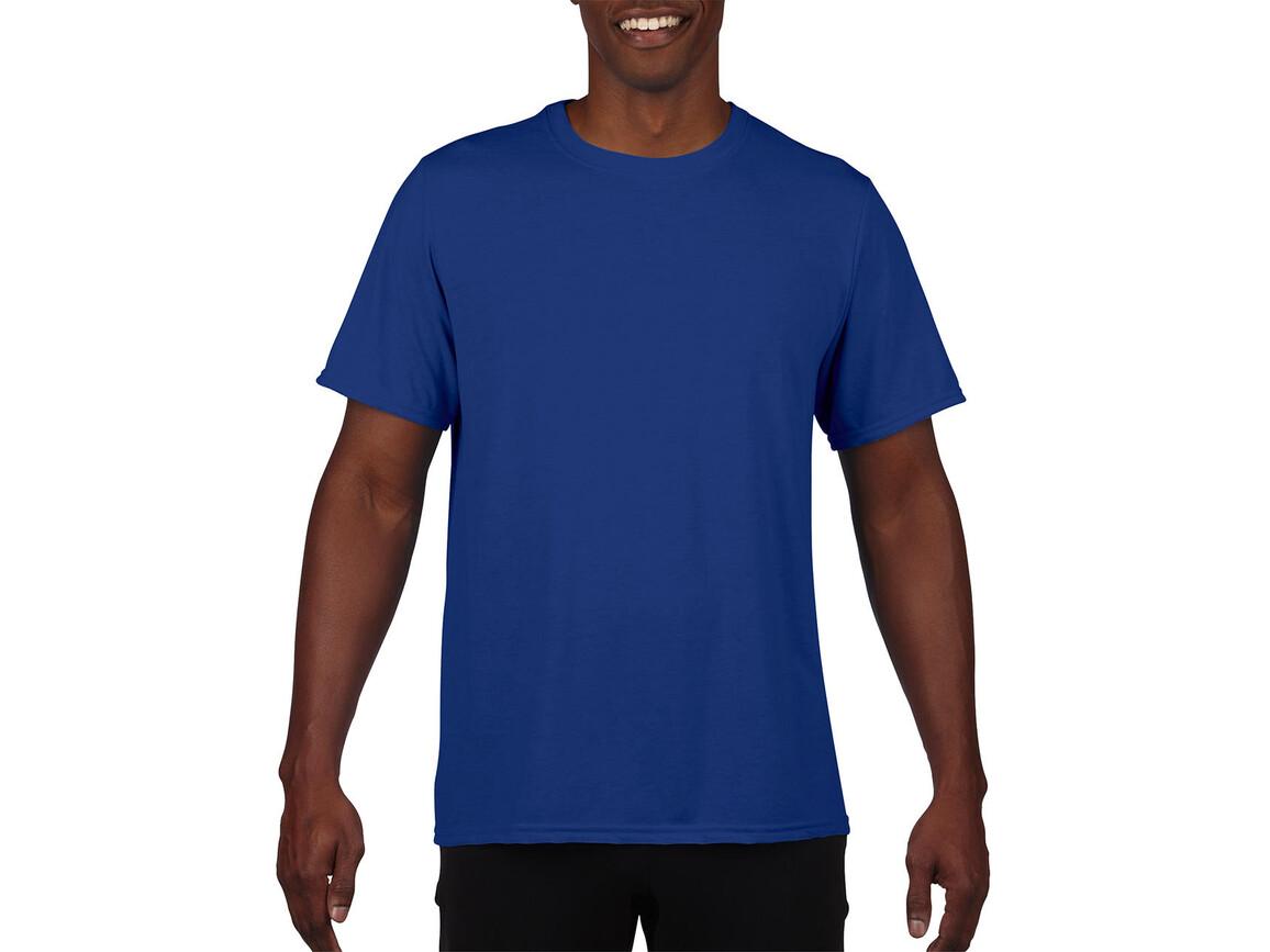Gildan Performance Adult Core T-Shirt, Sport Royal, 3XL bedrucken, Art.-Nr. 011093028