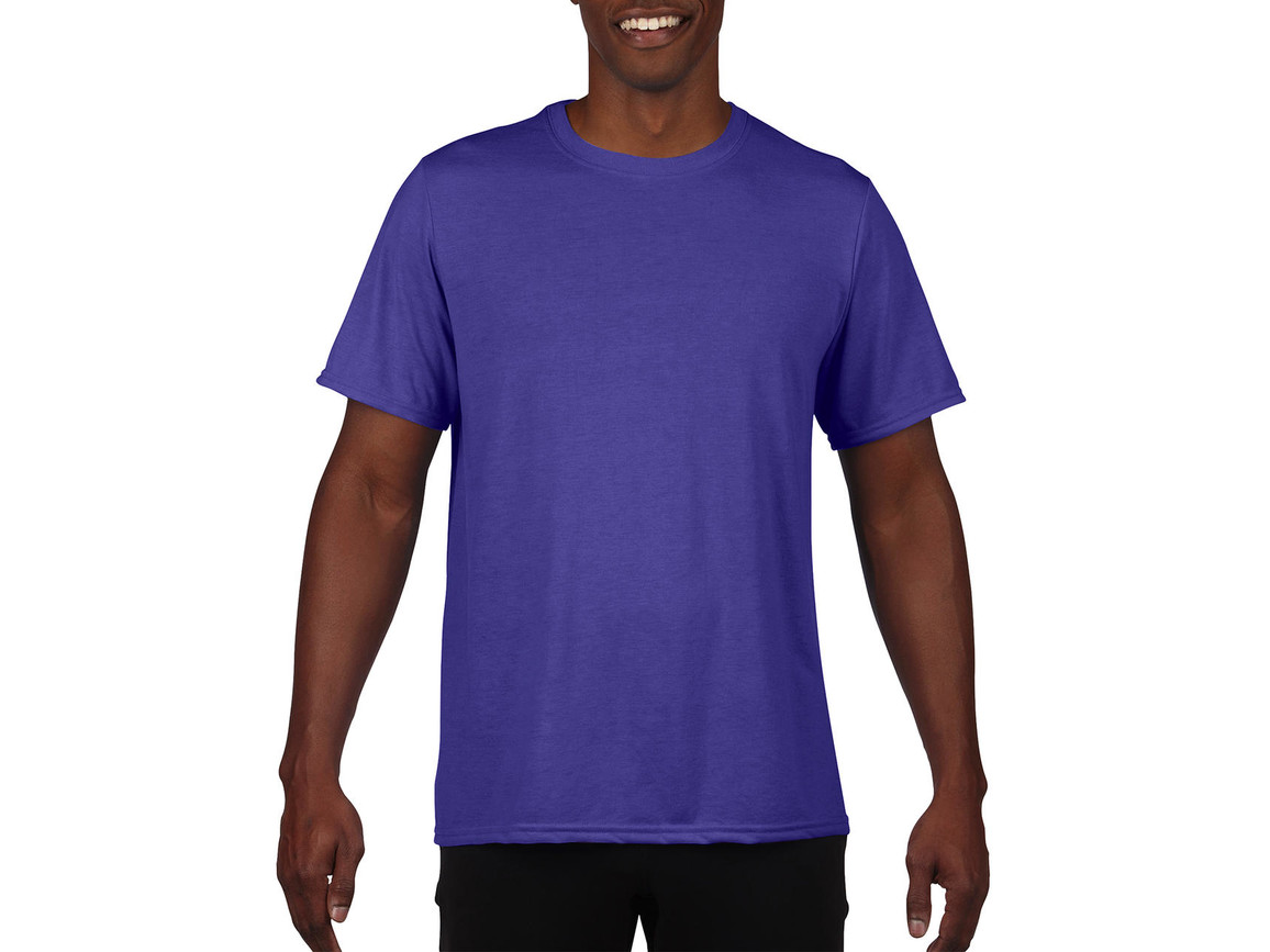 Gildan Performance Adult Core T-Shirt, Sport Purple, L bedrucken, Art.-Nr. 011093145