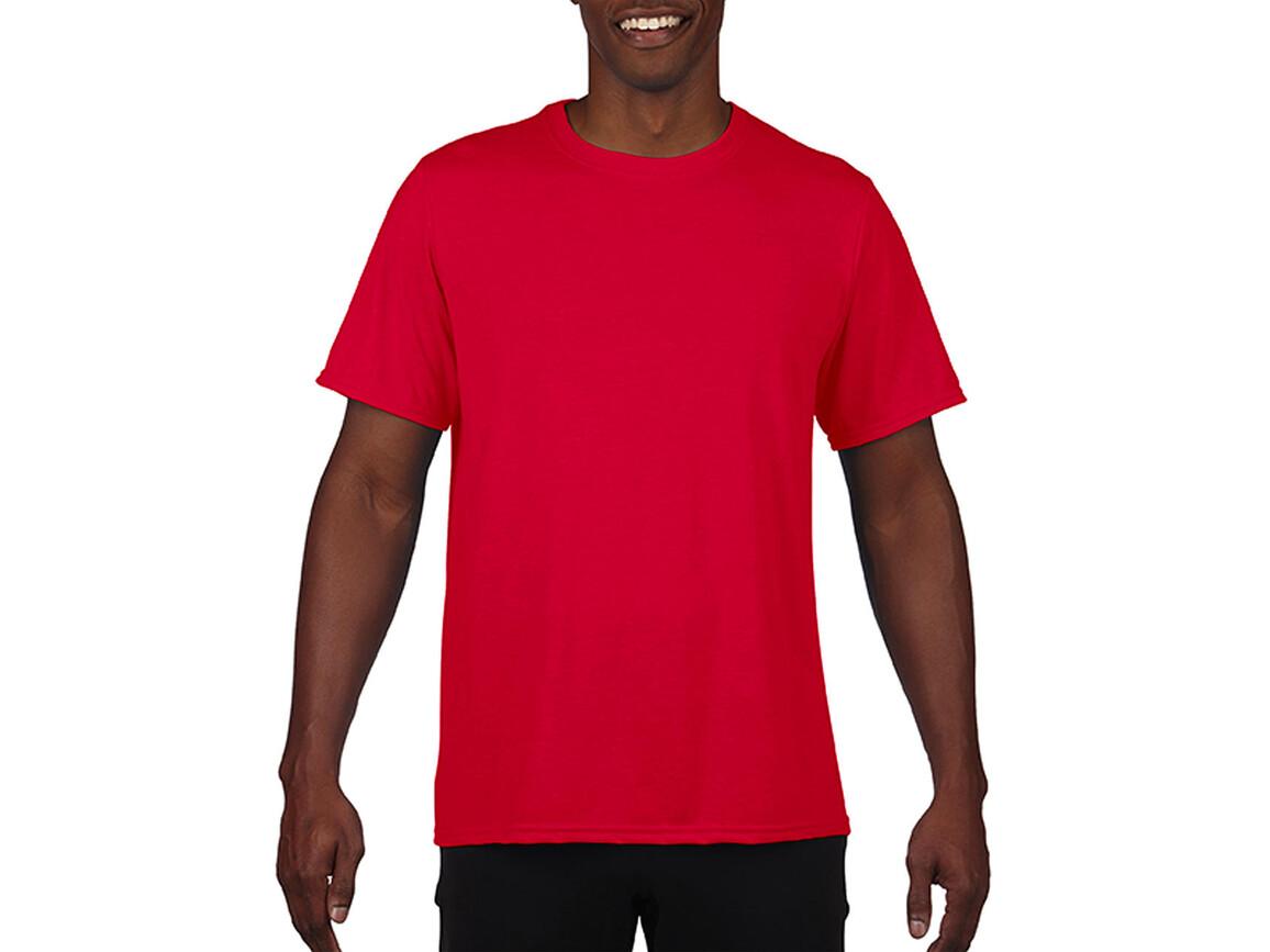 Gildan Performance Adult Core T-Shirt, Sport Scarlet Red, 2XL bedrucken, Art.-Nr. 011094157