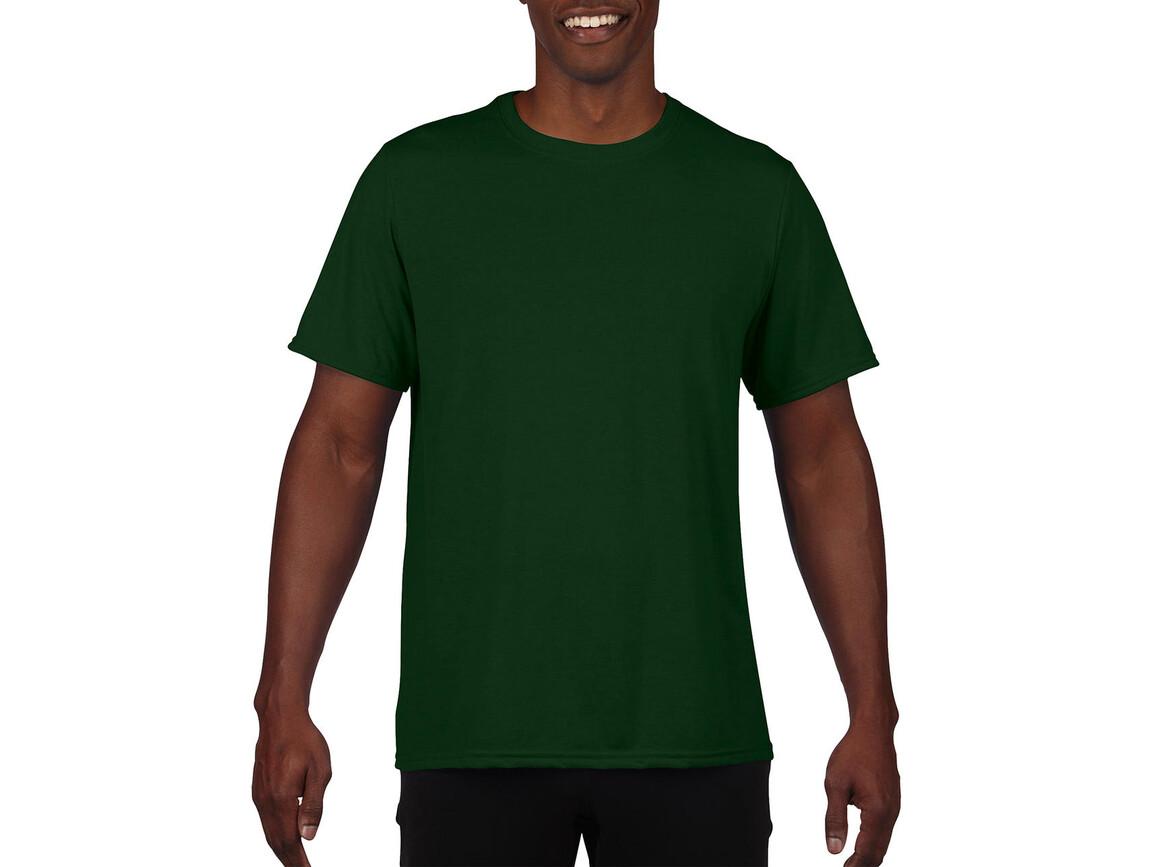 Gildan Performance Adult Core T-Shirt, Sport Dark Green, XL bedrucken, Art.-Nr. 011095086