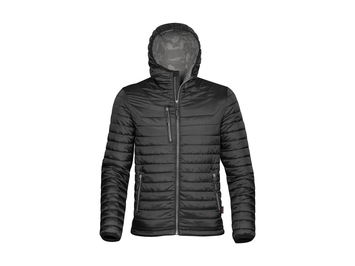 StormTech Gravity Thermal Jacket, Black/Charcoal, M bedrucken, Art.-Nr. 012181654