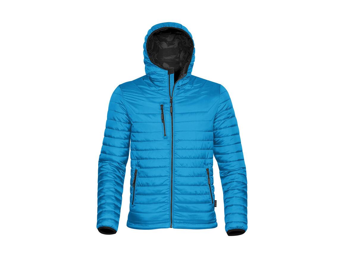 StormTech Gravity Thermal Jacket, Electric Blue/Black, XL bedrucken, Art.-Nr. 012183636