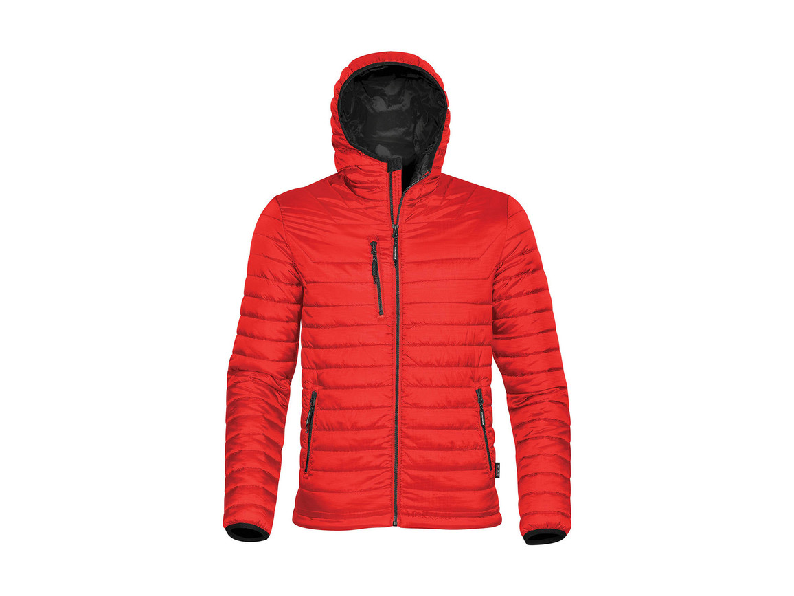 StormTech Gravity Thermal Jacket, True Red/Black, L bedrucken, Art.-Nr. 012184575