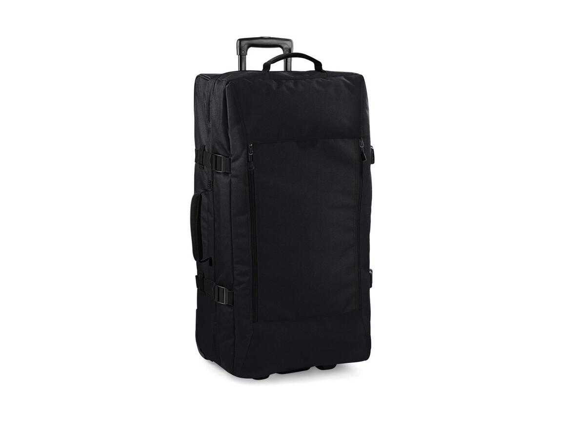 Bag Base Escape Dual-Layer Large Wheelie, Black, One Size bedrucken, Art.-Nr. 012291010