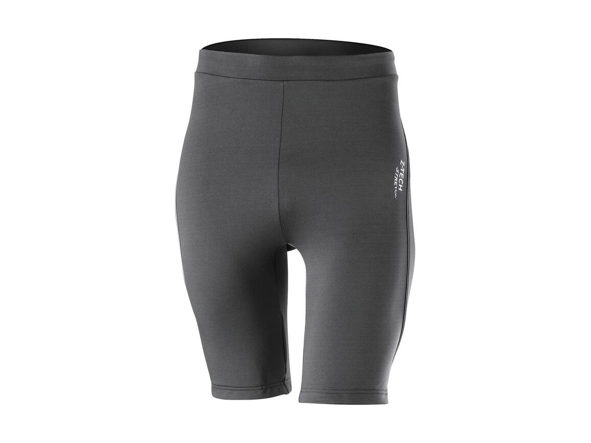Result Men`s Sprint Training Shorts, Grey, L bedrucken, Art.-Nr. 012331275