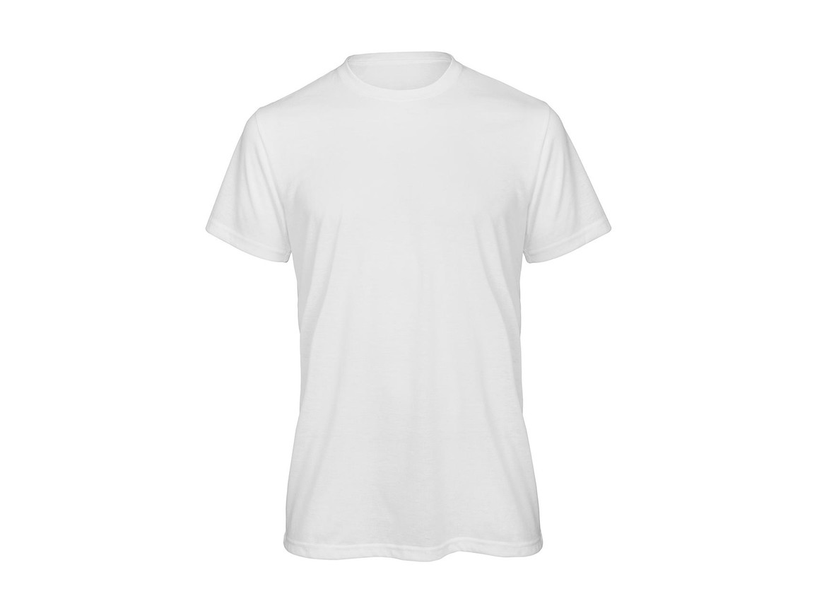 B & C Sublimation/men T-Shirt, White, XL bedrucken, Art.-Nr. 013420006