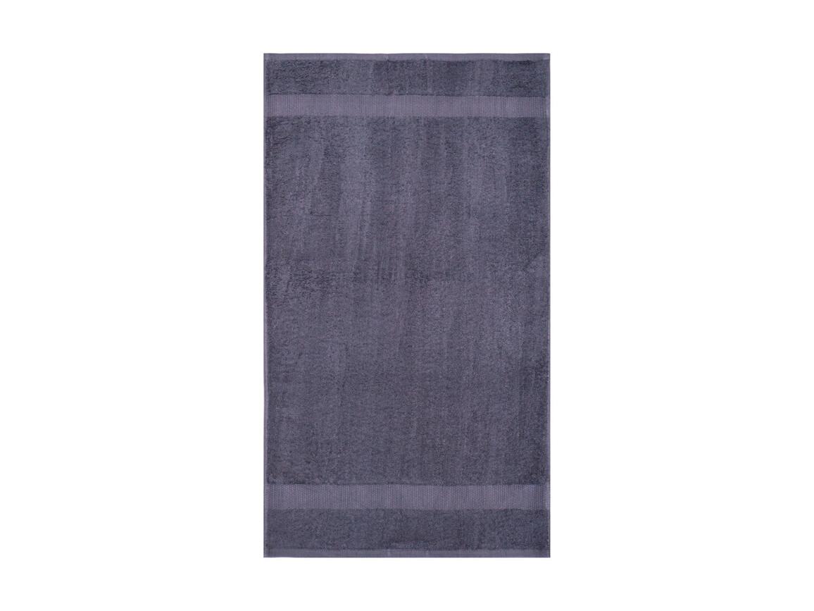 Jassz Towels Tiber Beach Towel 100x180 cm, Steel Grey, One Size bedrucken, Art.-Nr. 013641110