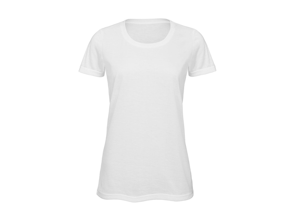 B & C Sublimation/women T-Shirt, White, M bedrucken, Art.-Nr. 014420004