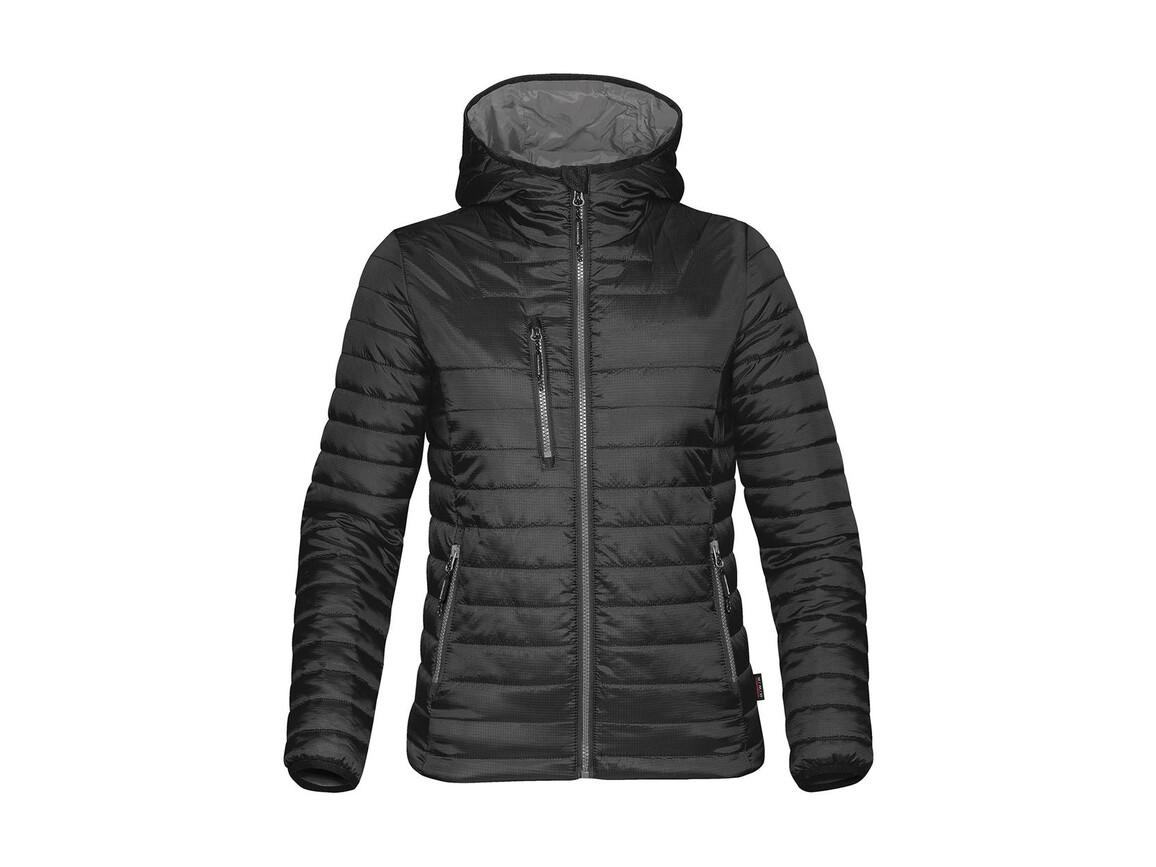 StormTech Women`s Gravity Thermal Jacket, Black/Charcoal, M bedrucken, Art.-Nr. 015181654