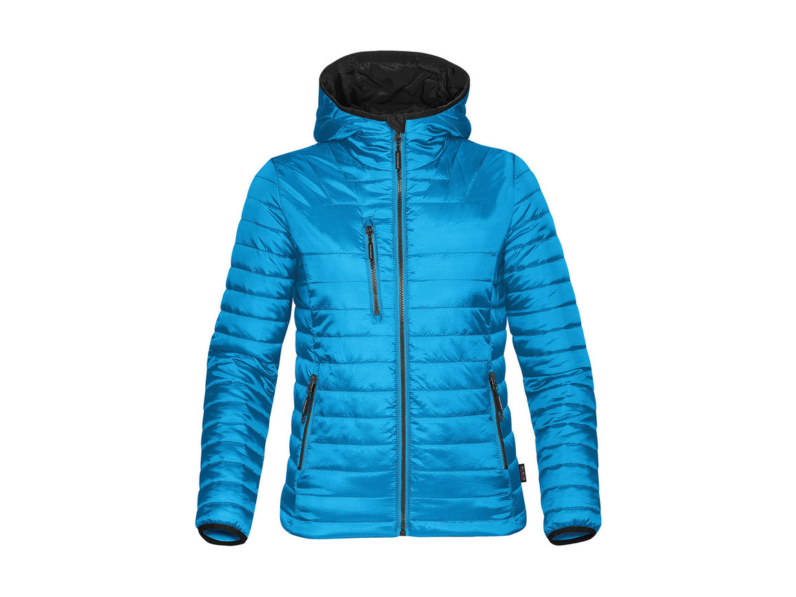 StormTech Women`s Gravity Thermal Jacket, Electric Blue/Black, S bedrucken, Art.-Nr. 015183633