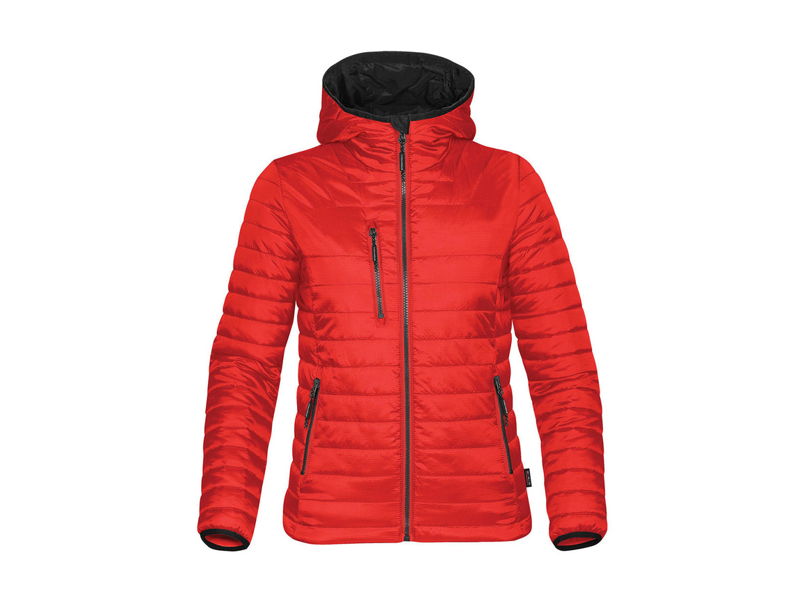 StormTech Women`s Gravity Thermal Jacket, True Red/Black, L bedrucken, Art.-Nr. 015184575