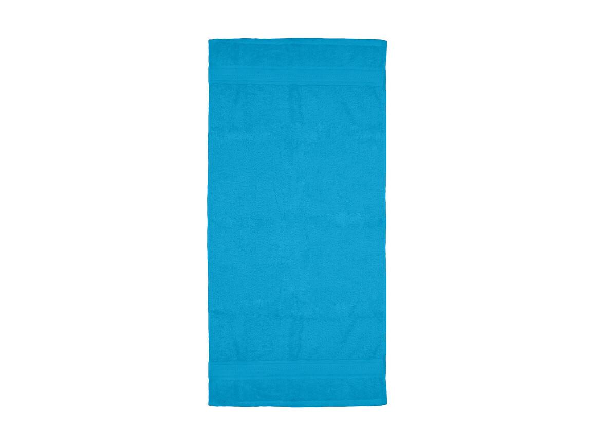 Jassz Towels Rhine Hand Towel 50x100 cm, Aqua, One Size bedrucken, Art.-Nr. 015643280