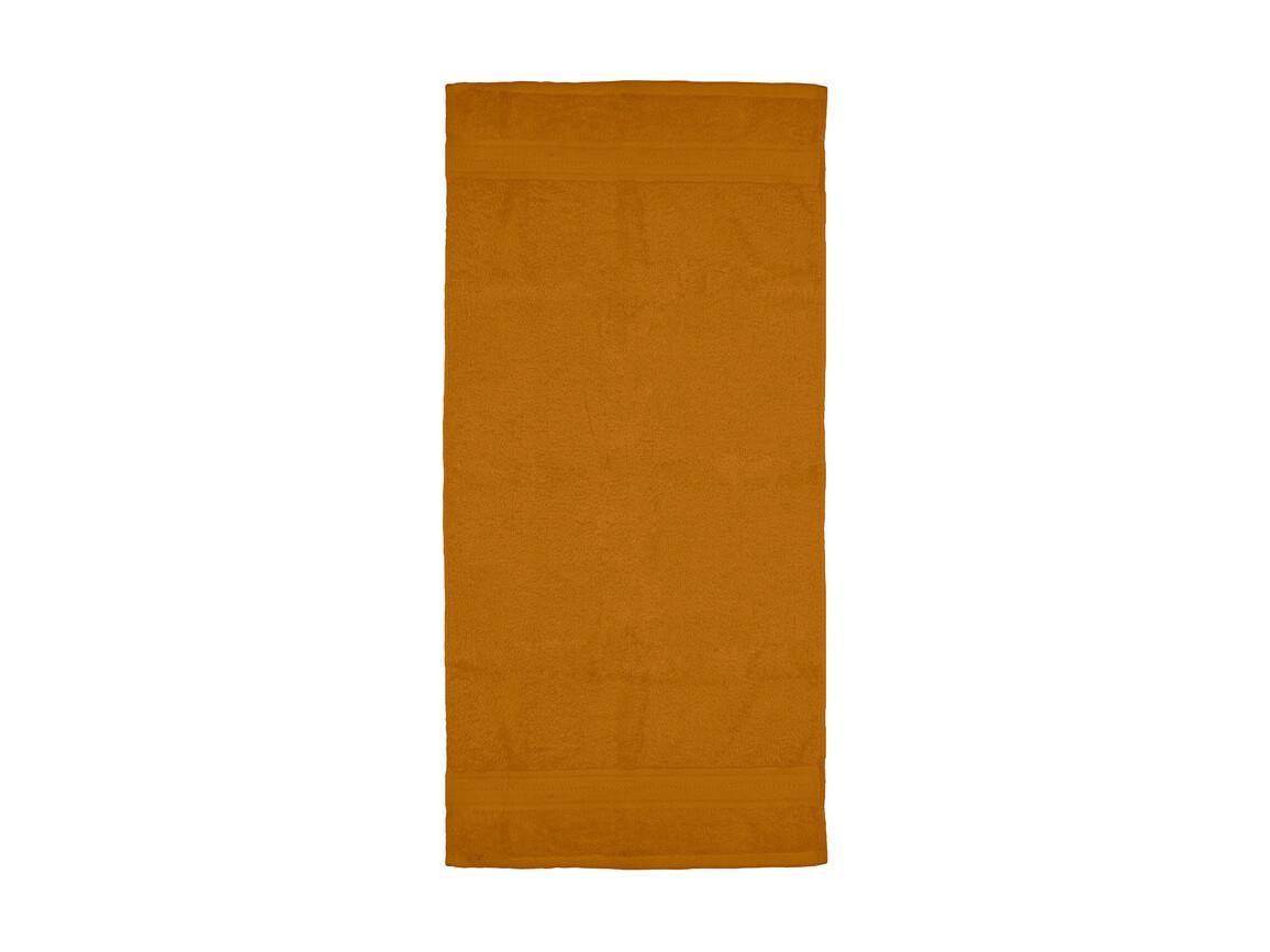 Jassz Towels Rhine Hand Towel 50x100 cm, Terra, One Size bedrucken, Art.-Nr. 015644360