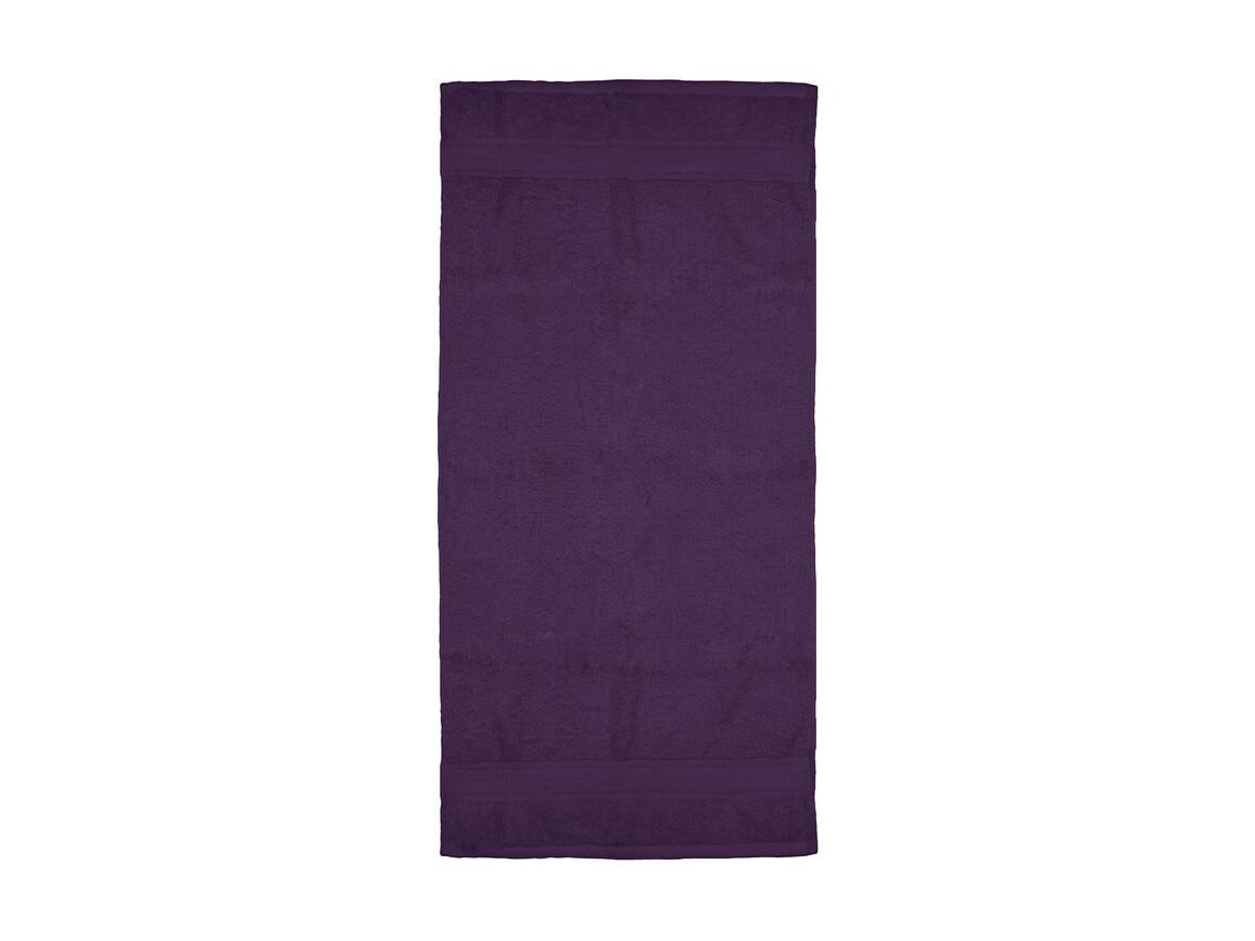 Jassz Towels Rhine Hand Towel 50x100 cm, Aubergine, One Size bedrucken, Art.-Nr. 015644440