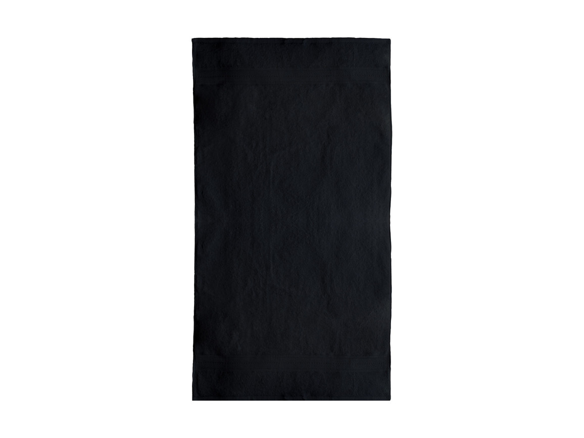 Jassz Towels Rhine Bath Towel 70x140 cm, Black, One Size bedrucken, Art.-Nr. 016641010
