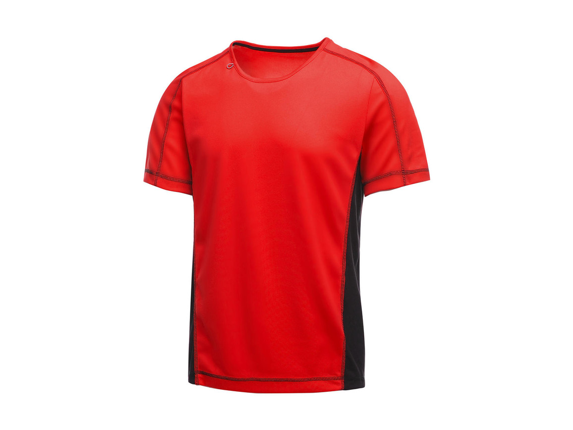 Regatta Beijing T-Shirt, Classic Red/Black, XL bedrucken, Art.-Nr. 020174516