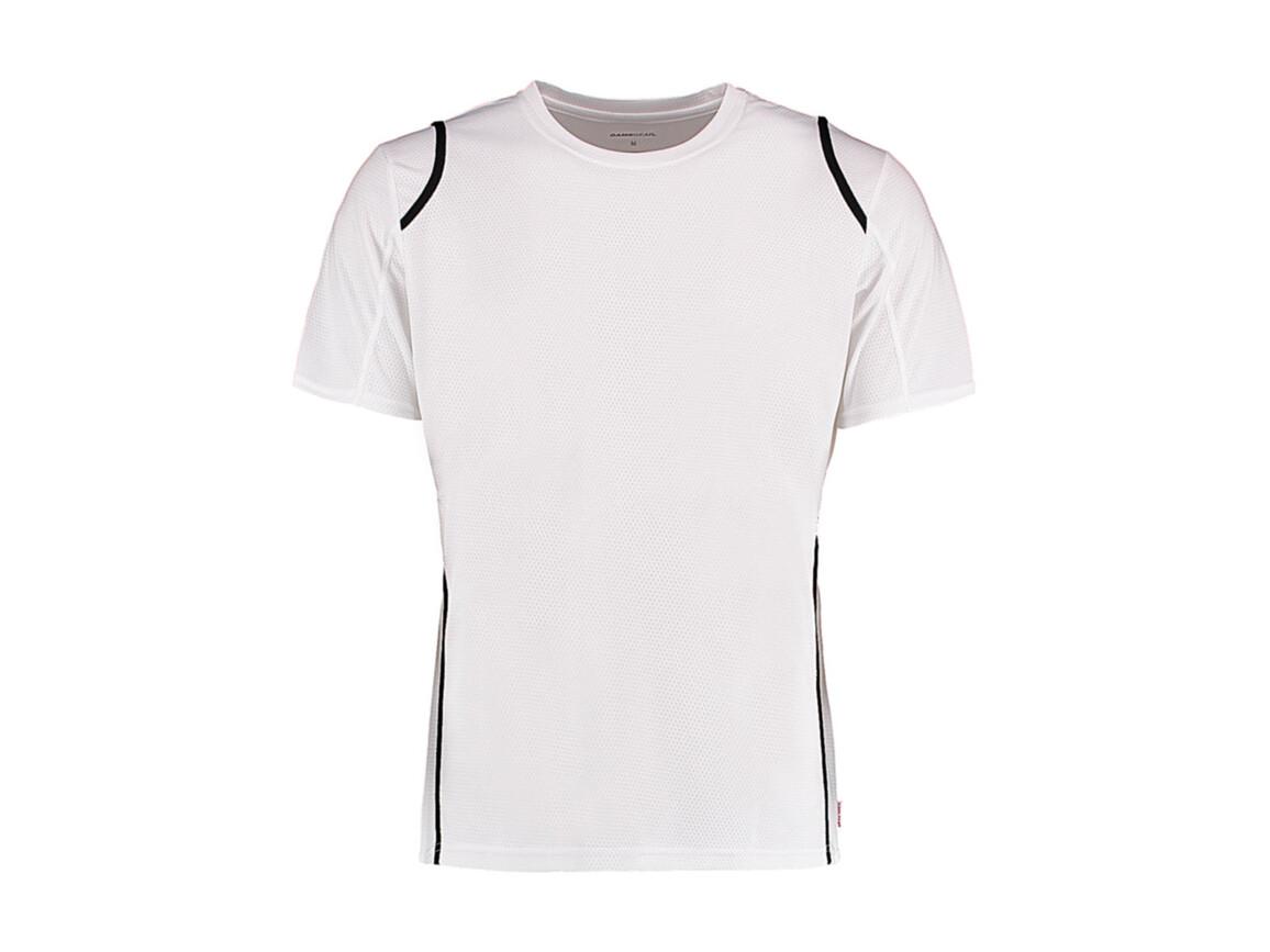 Kustom Kit Regular Fit Cooltex® Contrast Tee, White/Black, M bedrucken, Art.-Nr. 021110564