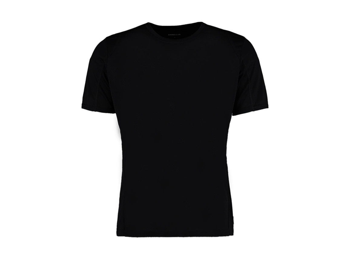 Kustom Kit Regular Fit Cooltex® Contrast Tee, Black/Black, S bedrucken, Art.-Nr. 021111523