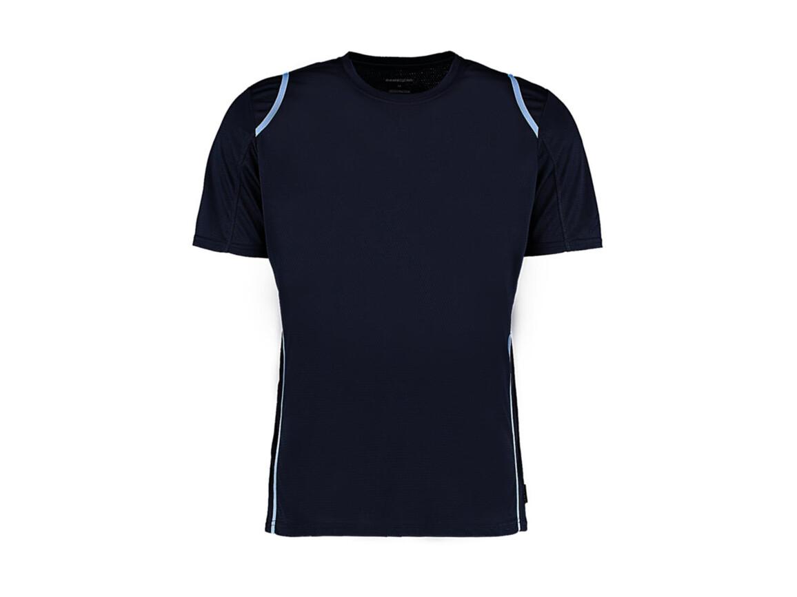 Kustom Kit Regular Fit Cooltex® Contrast Tee, Navy/Light Blue, M bedrucken, Art.-Nr. 021112414