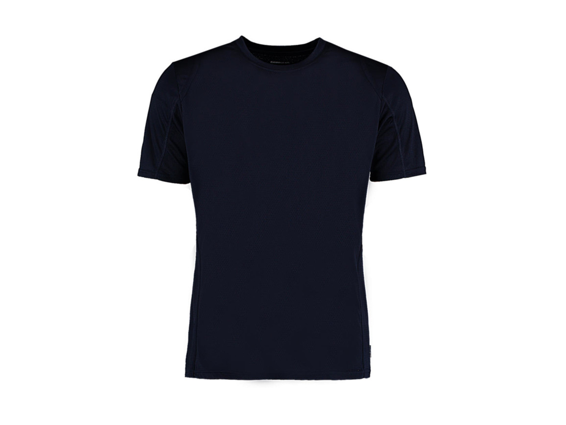 Kustom Kit Regular Fit Cooltex® Contrast Tee, Navy/Navy, M bedrucken, Art.-Nr. 021112564