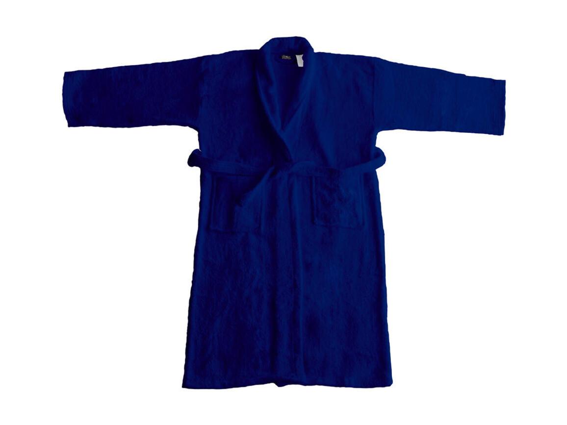 Jassz Towels Geneva Bath Robe, Navy, XS/S bedrucken, Art.-Nr. 022642002