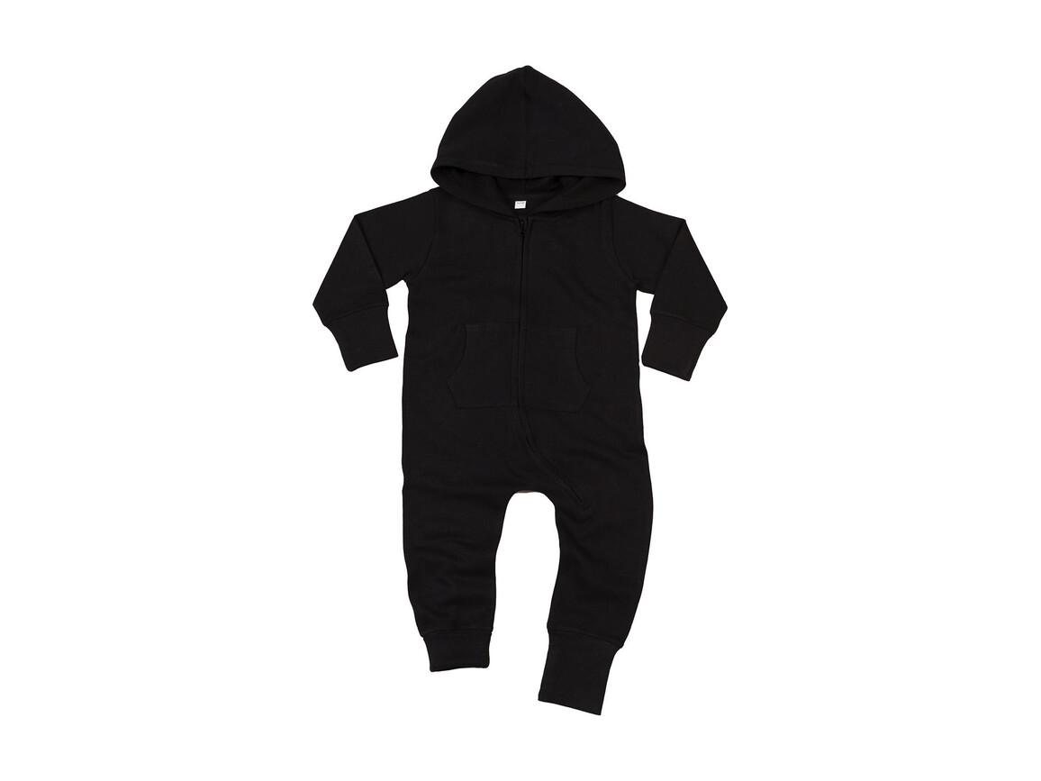 BabyBugz Baby All-in-One, Black, 6-12 bedrucken, Art.-Nr. 025471013
