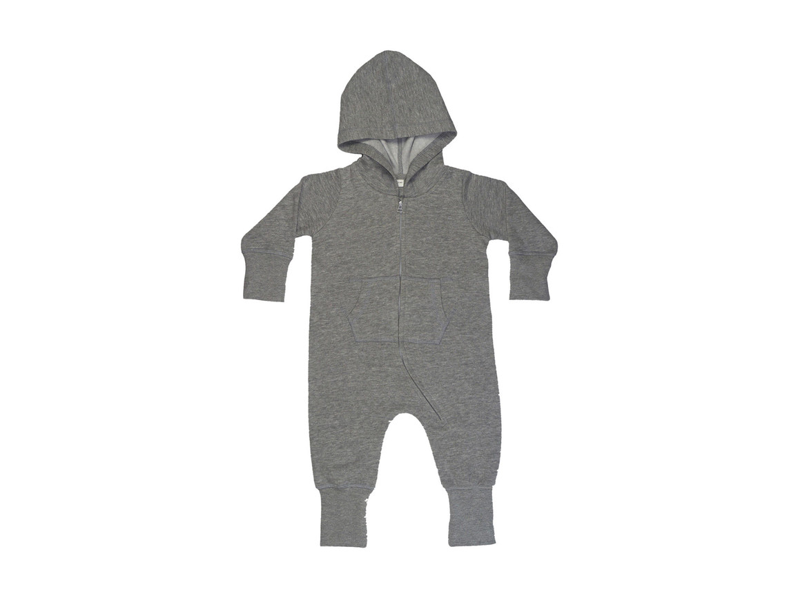BabyBugz Baby All-in-One, Washed Grey Melange, 2-3 yrs bedrucken, Art.-Nr. 025471166