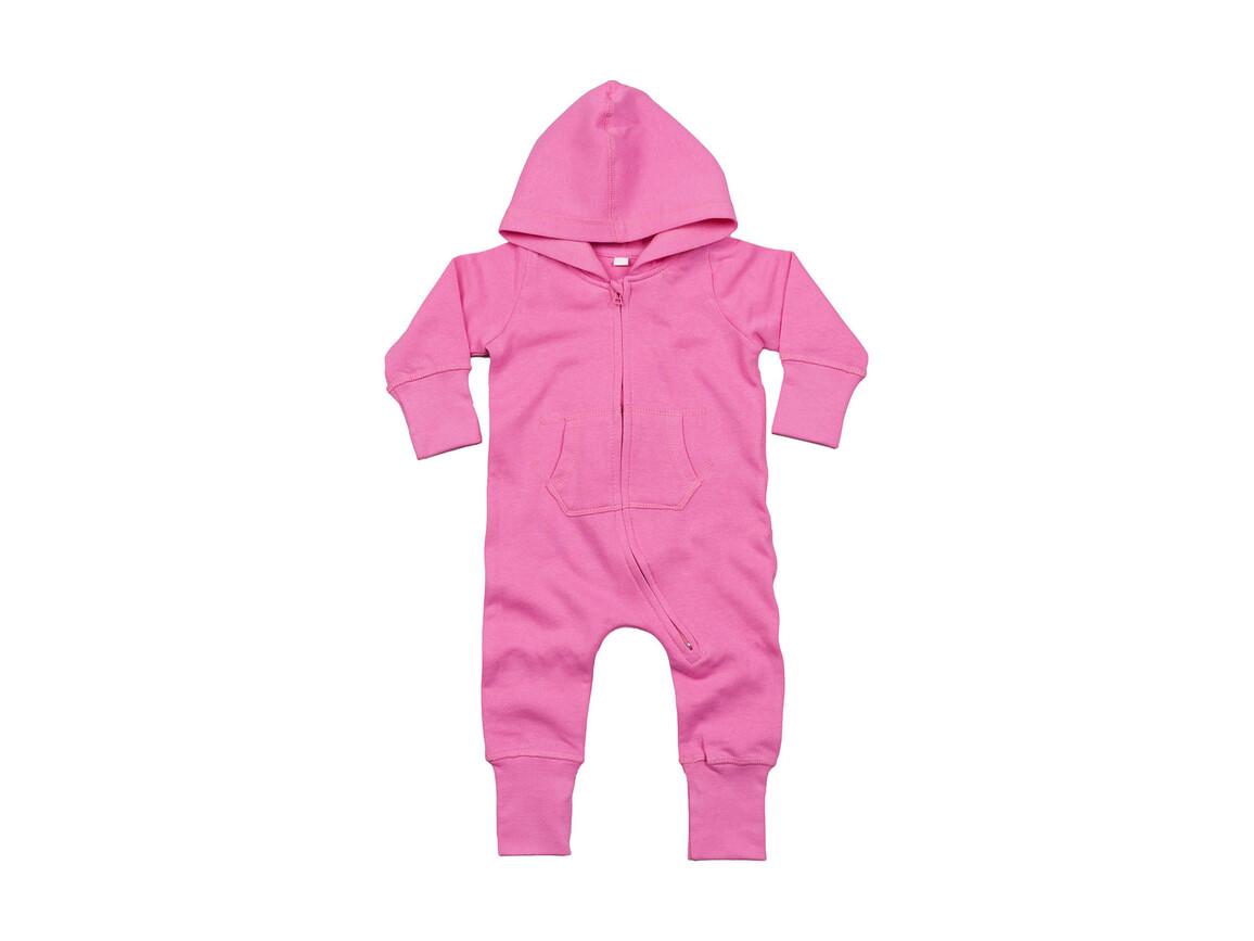 BabyBugz Baby All-in-One, Bubble Gum Pink, 6-12 bedrucken, Art.-Nr. 025474223