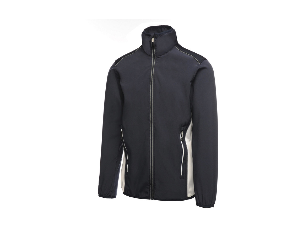 Regatta Sochi Softshell, Navy/White, S bedrucken, Art.-Nr. 026172533