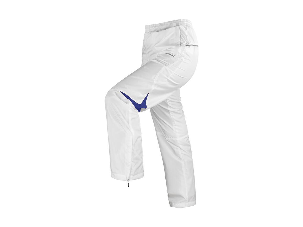 Result Men`s Micro Lite Team Pant, White/Navy, XL bedrucken, Art.-Nr. 026330526