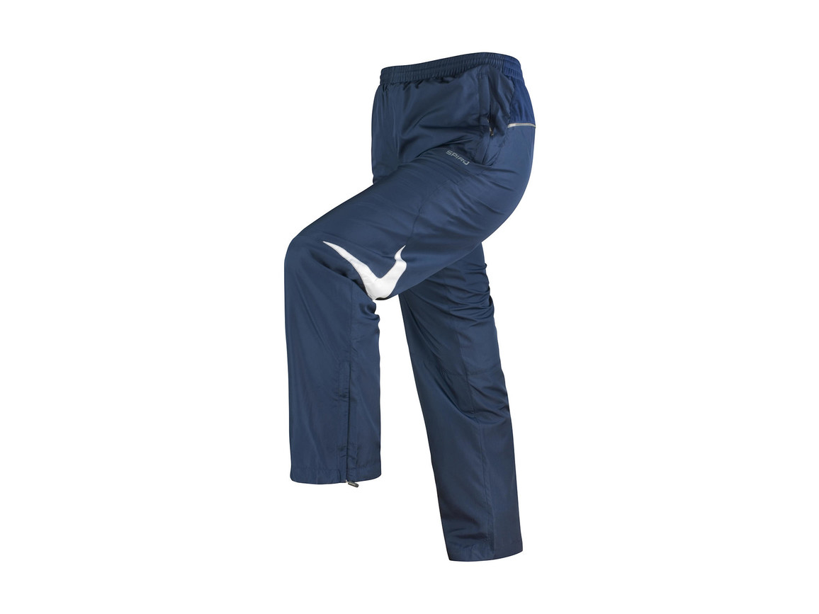 Result Men`s Micro Lite Team Pant, Navy/White, S bedrucken, Art.-Nr. 026332523