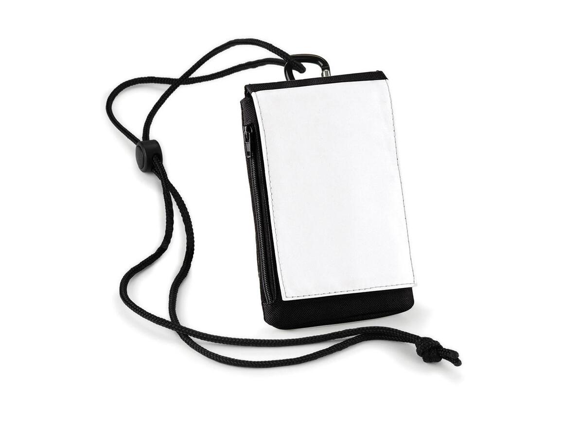 Bag Base Sublimation Phone Pouch XL, Black, One Size bedrucken, Art.-Nr. 028291010